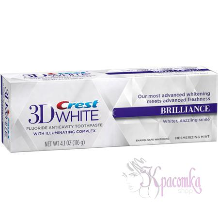 Отбеливающая зубная паста Crest 3D White Brilliance Toothpaste, Mesmerizing Mint