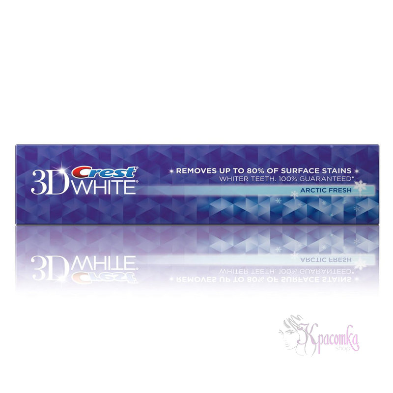 Зубная паста Crest 3D White Fluoride Anticavity Toothpaste Radiant Mint